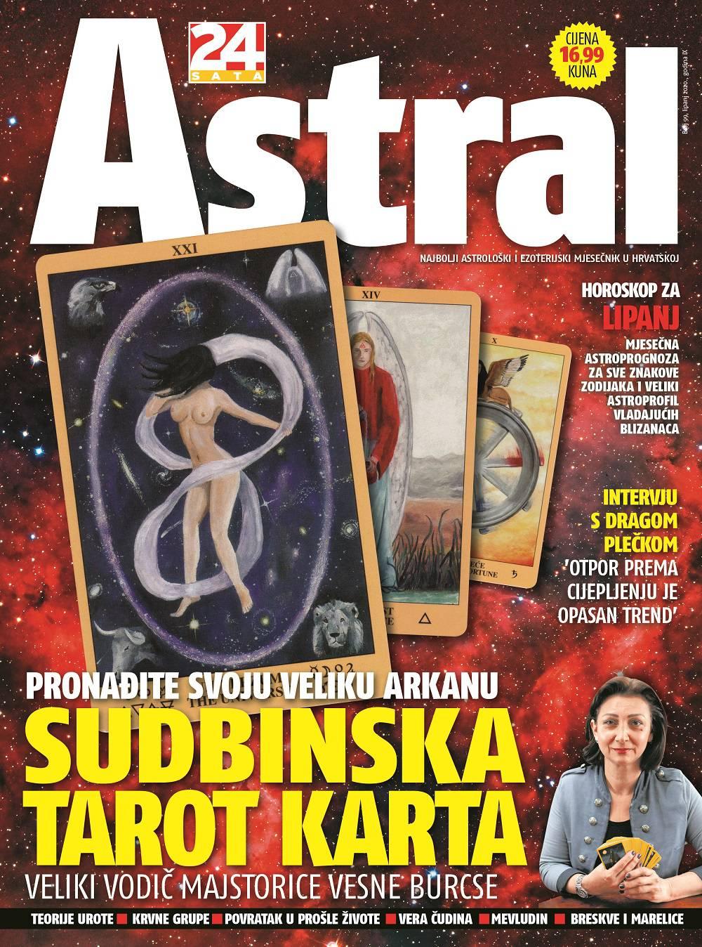 U Astralu: Tarot majstorica otkriva vašu sudbinsku kartu