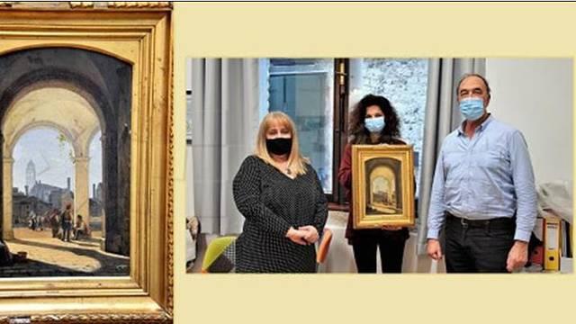 Muzej grada Splita otkupio sliku danskoga slikara J. P.Kornbecka