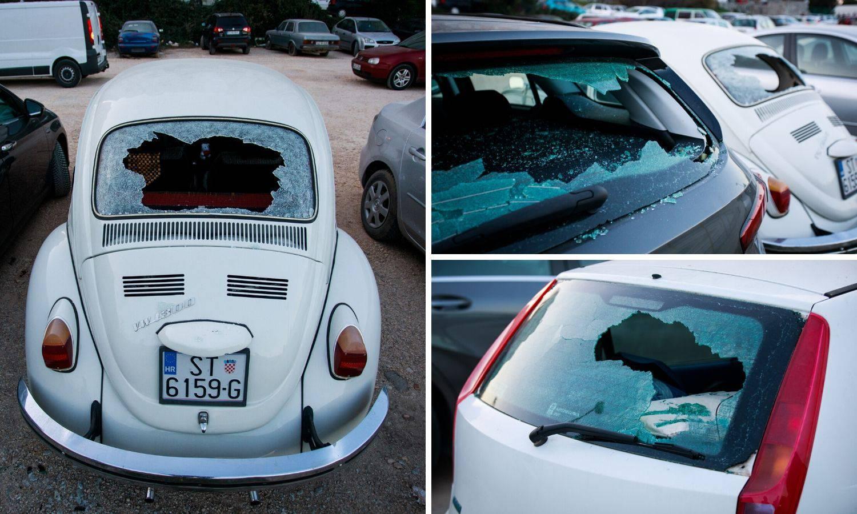 Splitski razbijač: Pijan i golim rukama porazbijao 27 auta!
