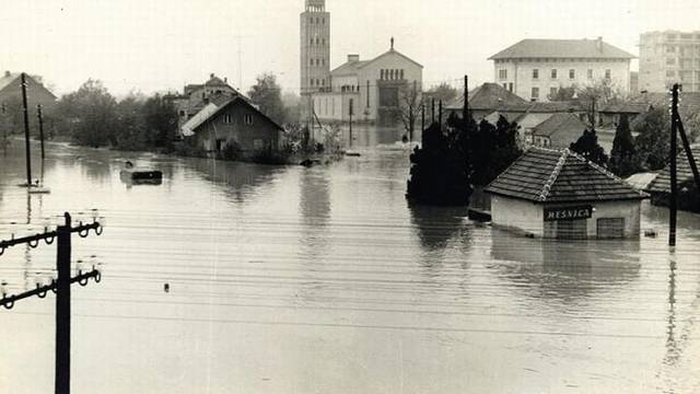 Sava poplavila trećinu Zagreba