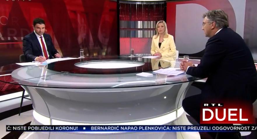 Plenković: 'Stvorio vas je Bandić'; Bernardić: 'Vas je za rukicu u HDZ dovela Kosor'