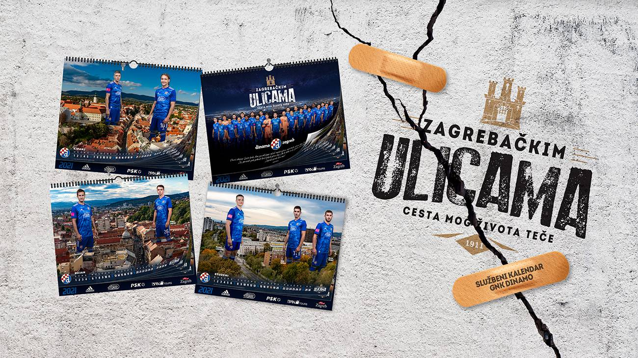'Bili' ove godine bez kalendara, a Dinamo u atraktivnom izdanju