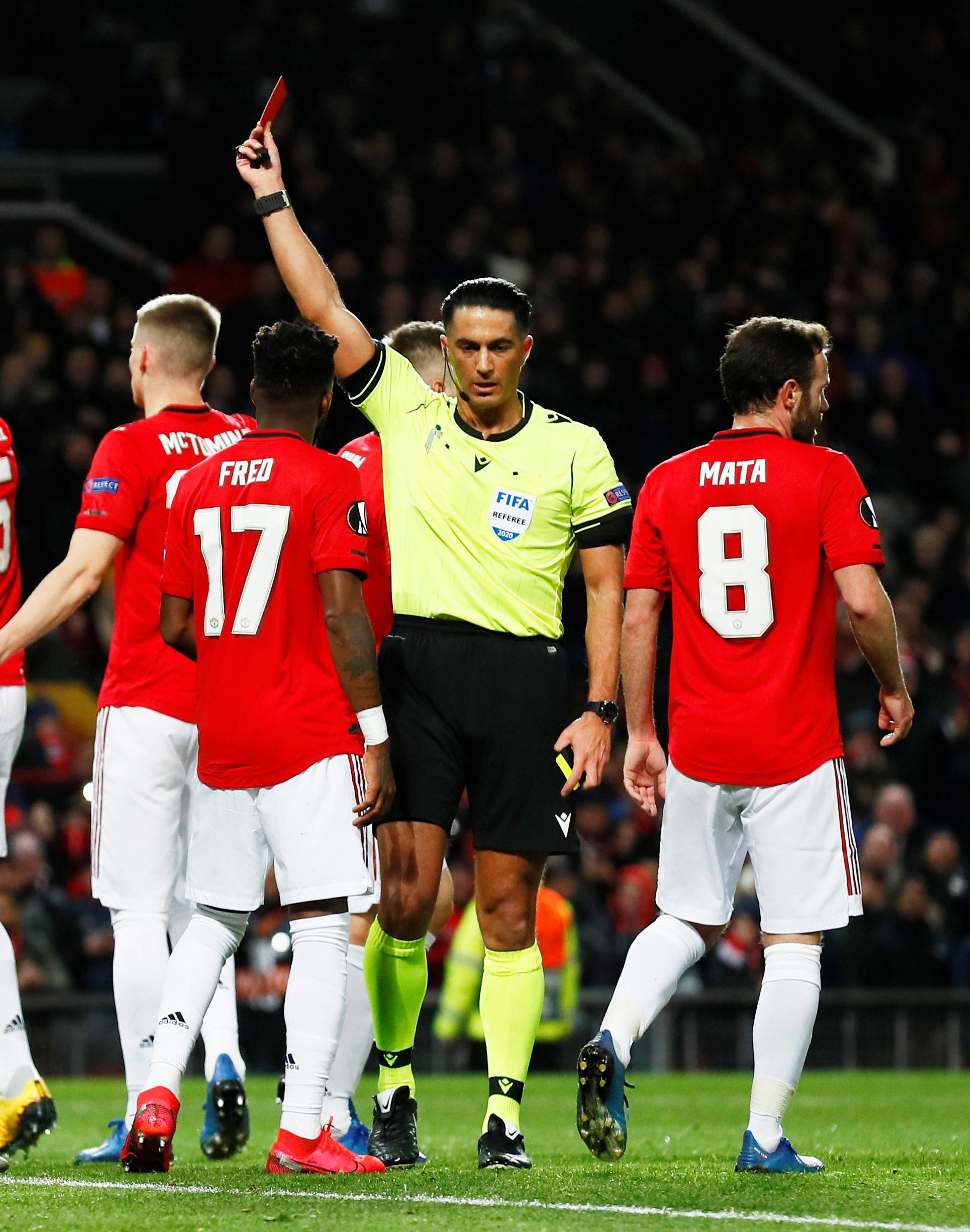 Europa League - Round of 32 Second Leg - Manchester United v Club Brugge