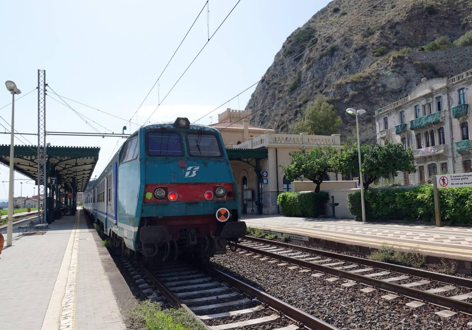 Sicily - Taormina-Giardini Station