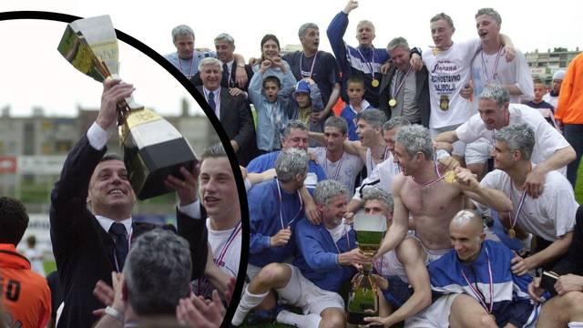 Olić: Zajedno smo osvojili moj prvi trofej u karijeri, ma Cico mi je uvijek bio više od trenera...