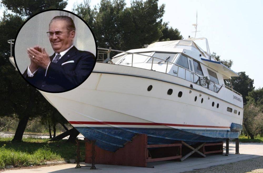 Titova 'Jadranka' na popustu: Prodaju je za 50 tisuća eura