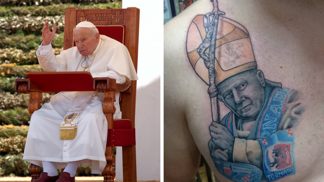 'Mi smo Papini, Papa je naš': Omiljeni Papa u ruhu KK Zadar