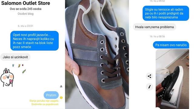 Love prevaranta koji prodaje lažne tenisice na webu, poručio im: 'J..o te inspektorat i policija'