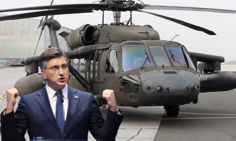 Hrvati će od SAD-a dobiti još dva helikoptera 'Black Hawk'