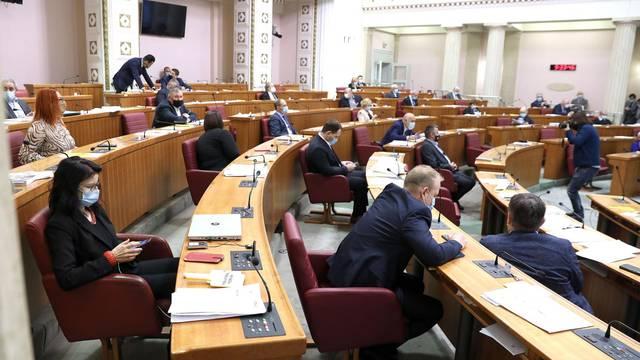 Sabor je 4. sjednicu nastavio dopunom dnevnog reda