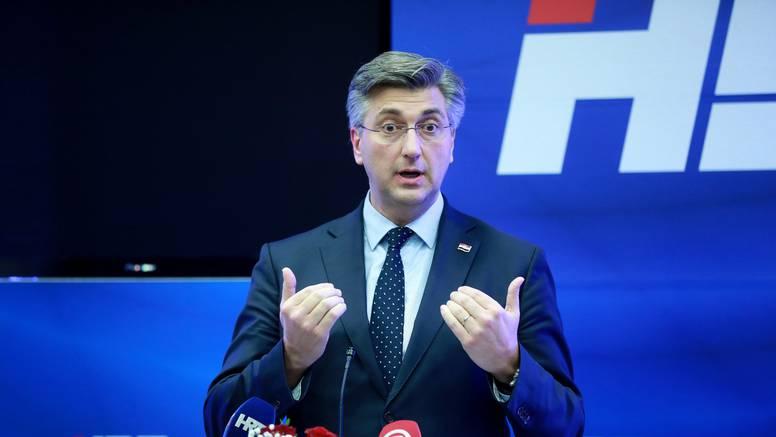 Plenković poručio Milanoviću: 'Tko je krenuo protuzakonitim putem, neka sad popravlja'