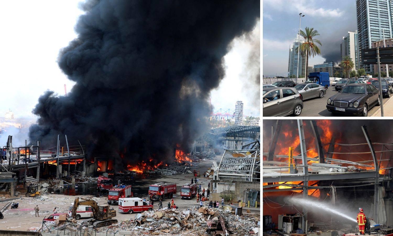 Traumatizirani stanovnici bježe iz Bejruta nakon novog požara