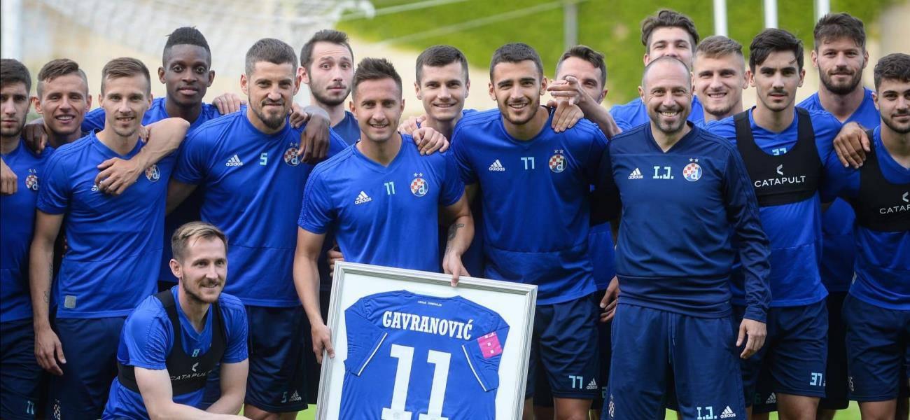 Gavranović odradio posljednji trening i oprostio se od suigrača