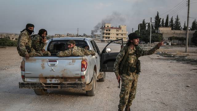 Military conflict in northern Syria