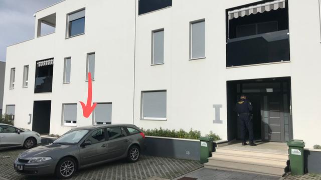 Ovo je auto kojim su pljačkaši bježali i apartman gdje su bili...