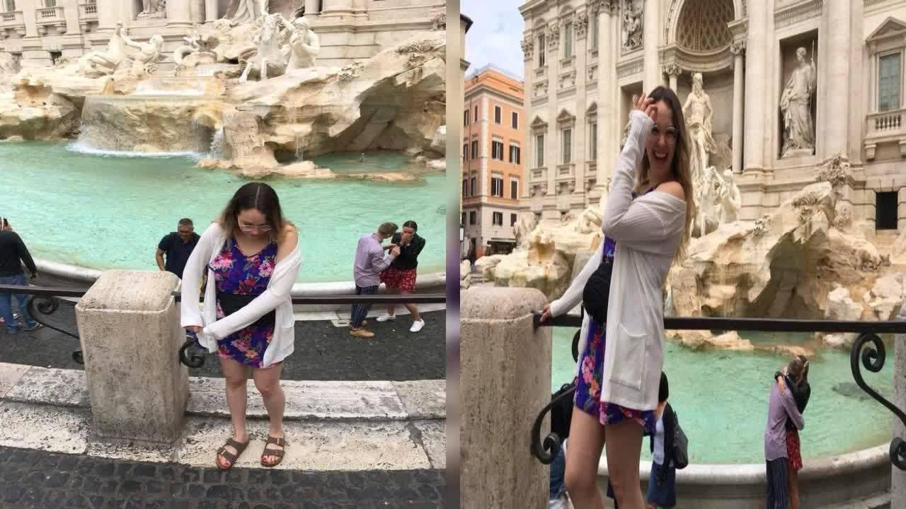 Traži par čiju prosidbu u Rimu je slučajno 'uhvatila' na fotki