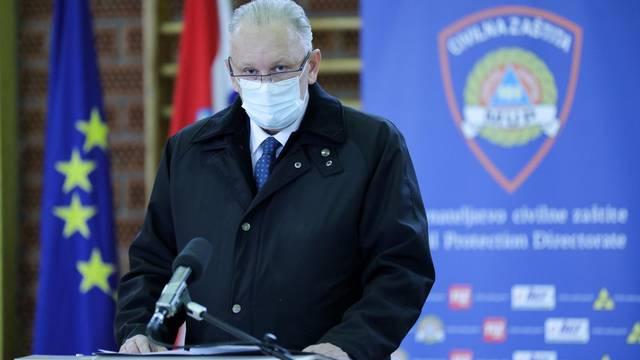Zagreb: Nacionalni stožer za civilnu zaštitu održao konferenciju za medije