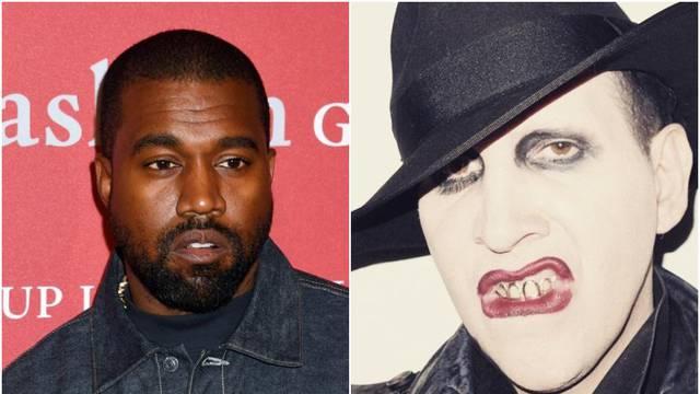 Fanovi su bijesni: Kanye West najavio suradnju s Mansonom, optuženim za zlostavljanje žena