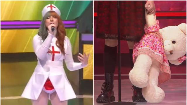 Osebujna natjecateljica Dana zapjevala u kostimu medicinske sestre pa sve ostavila bez teksta