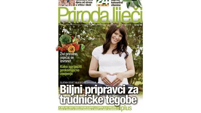 Priroda liječi: Biljni pripravci za trudničke tegobe!