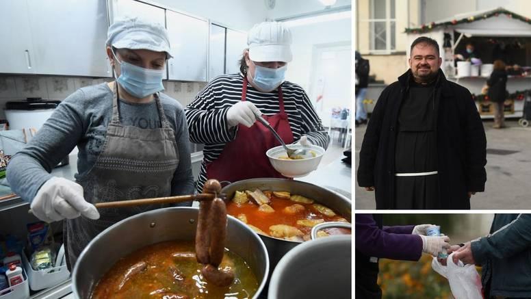 Cijele obitelji dolaze na Sv. Duh: 'Moram jesti u pučkoj kuhinji, zbog korone sam izgubio posao'