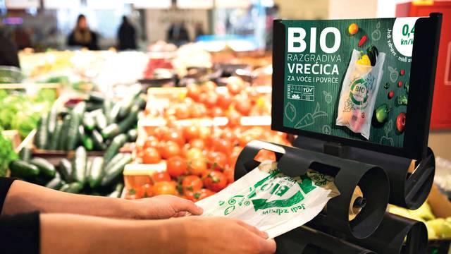 SPAR Hrvatska prodao više od milijun biorazgradivih vrećica