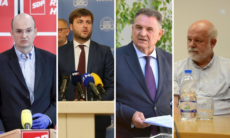 Ćorić i Tica se sukobili oko Ine! Čačić hvalio i HDZ i SDP, a Škorin Rončević gleda u 2050. godinu