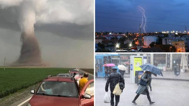 Klima podivljala: U Rumunjskoj tornado, a nama stiže snijeg