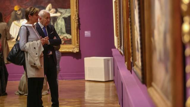 Zagreb: Svečano otvorenje izložbe Vlaho Bukovac i Alexandre Cabanel