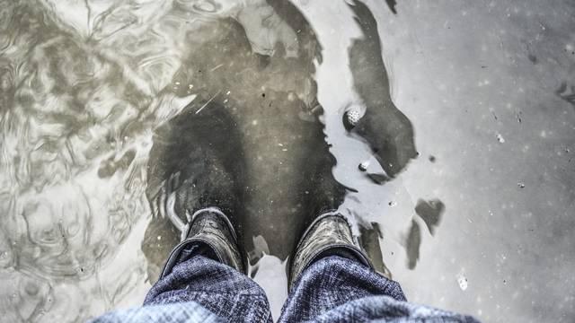 Ilustracija kišnog vremena