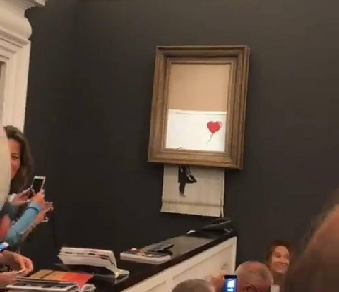Golem interes za Banksyjevu 'Djevojku s balonom' u muzeju