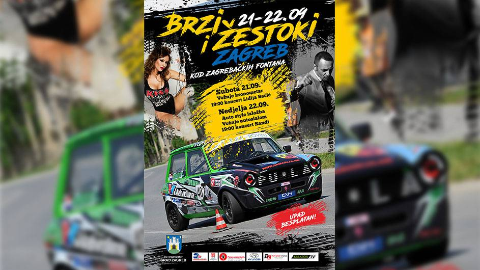 """BRZI & ŽESTOKI ZAGREB"" najatraktivnija utrka dosad"