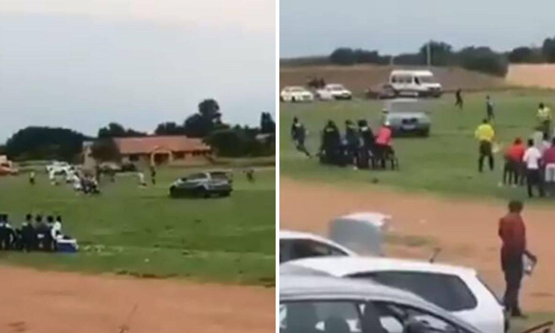 Šou u Južnoj Africi: Suca je po terenu ganjao u jurećem džipu
