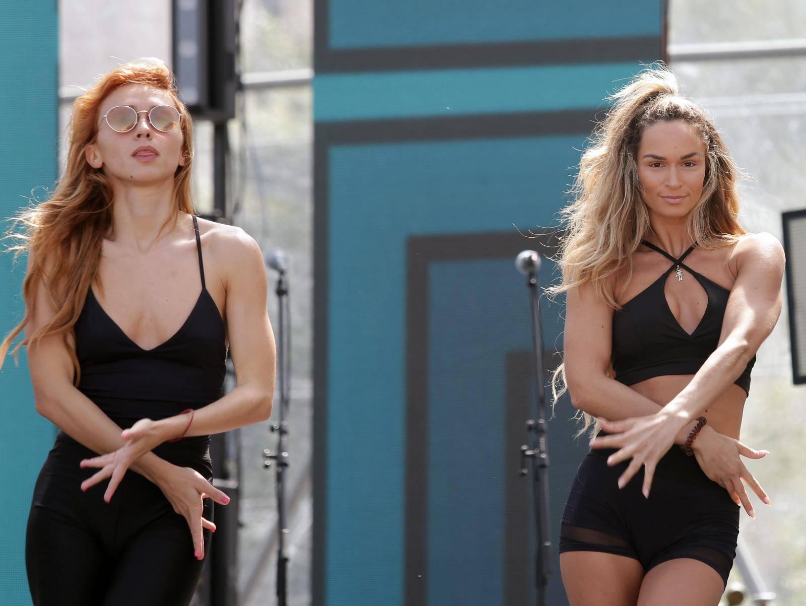 Vodice: Plesačice se pripremaju za nastup na CMC festivalu