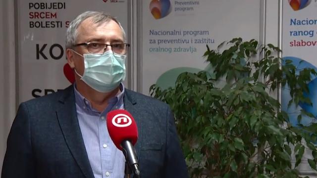 Capak: 'Mi smo svi u crvenom, cjepivo treba doći u prosincu'