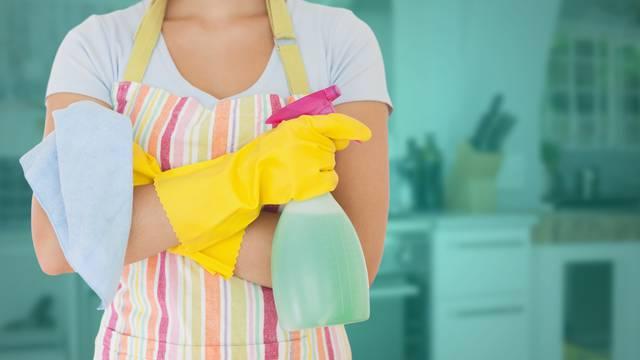 Radne površine u kuhinji čiste se ovisno o njihovom materijalu