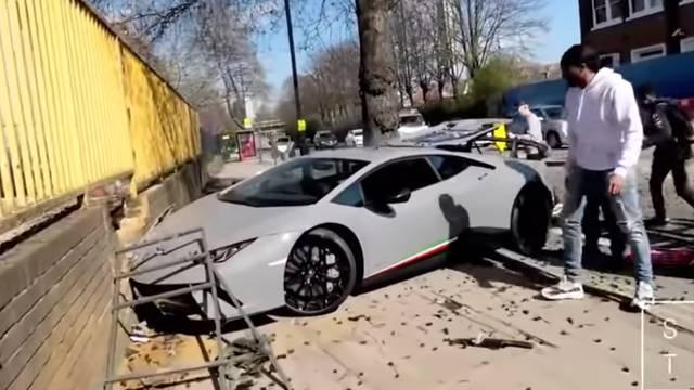 Htio se malo pohvaliti: Razbio Lamborghini od 2 milijuna kuna