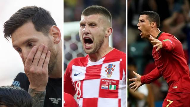 Rebić: Messi je najbolji igrač svijeta, ali poslije Cristiana...