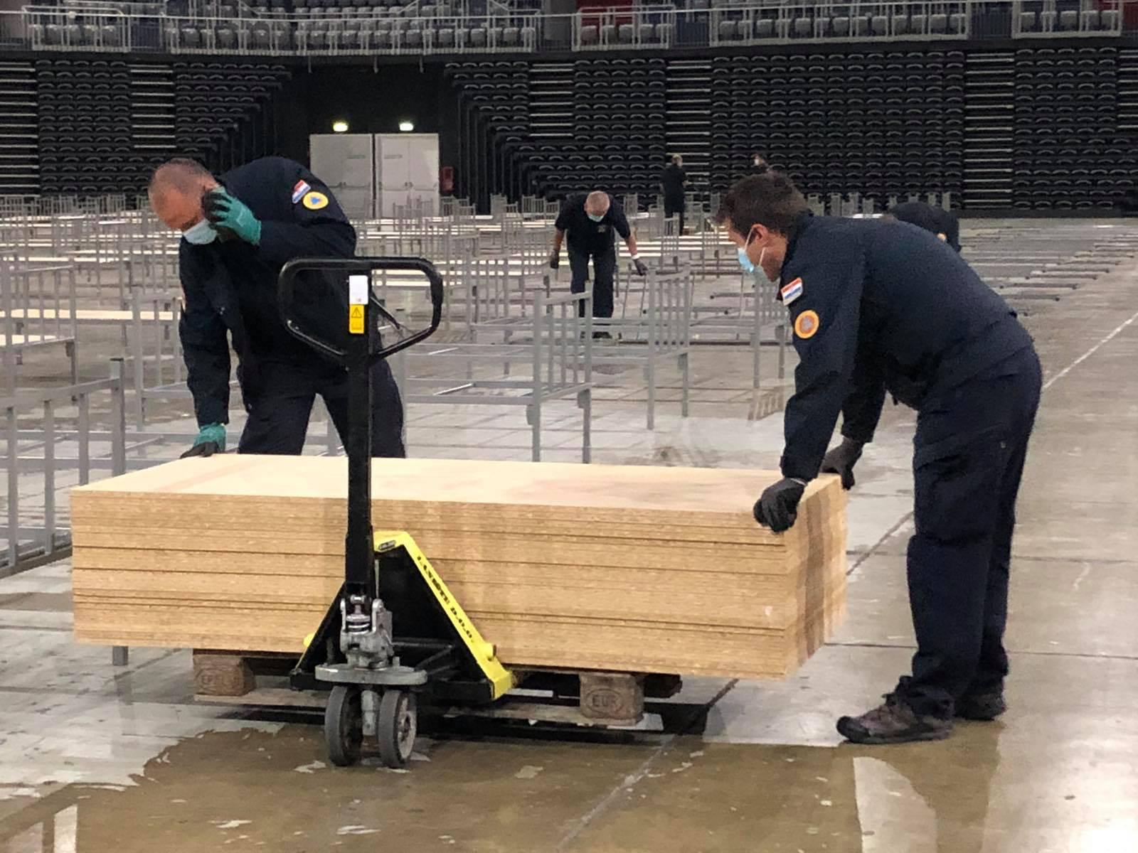 Nisu potrebni: Uklanja se 300 kreveta iz zagrebačke Arene