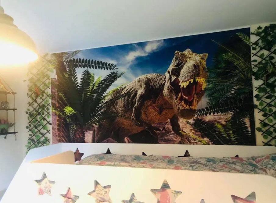 Kakav raj za dečke! Mama im napravila sobu iz Jurassic snova