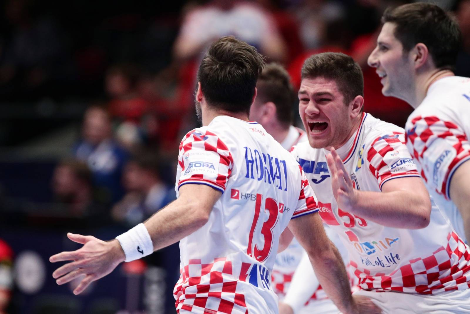 Men's 2020 EHF European Handball Championship - Main Round - Croatia v Germany