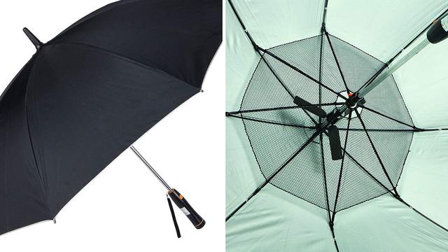 Kišobran s ventilatorom: Hladi vas i skriva od sunčevih zraka
