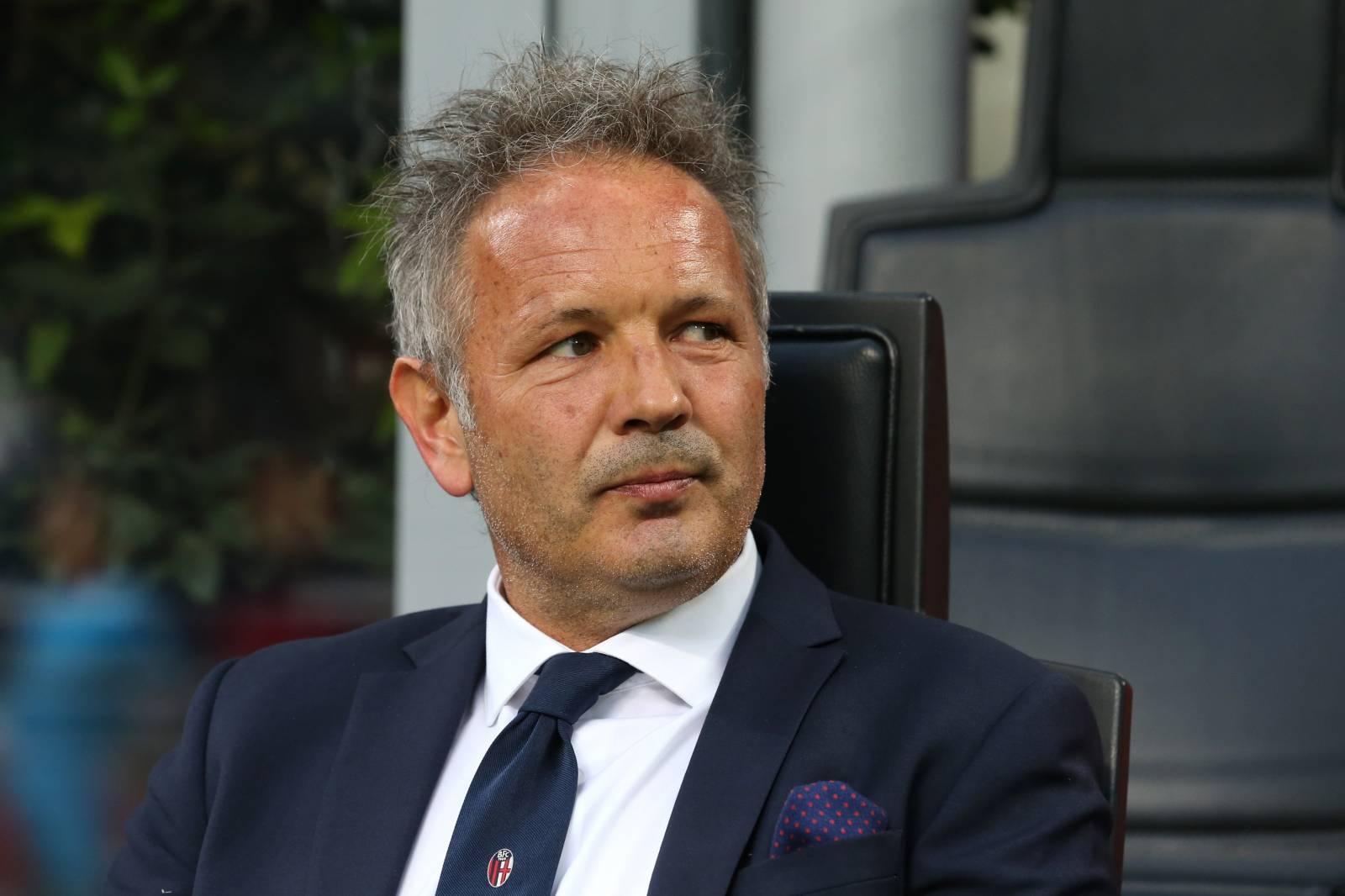 AC Milan v Bologna - Serie A - Giuseppe Meazza