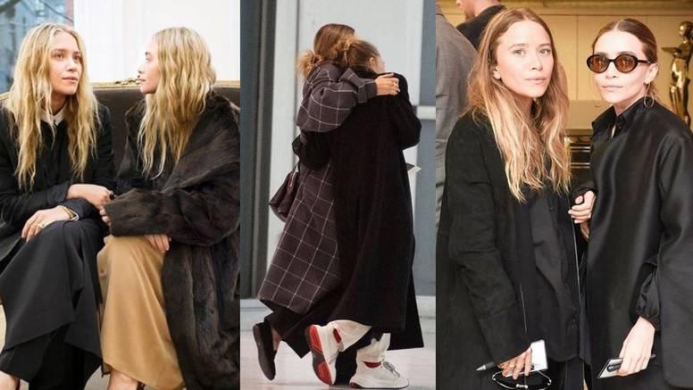 Sestre Olsen znaju kako nositi velike i voluminozne kapute