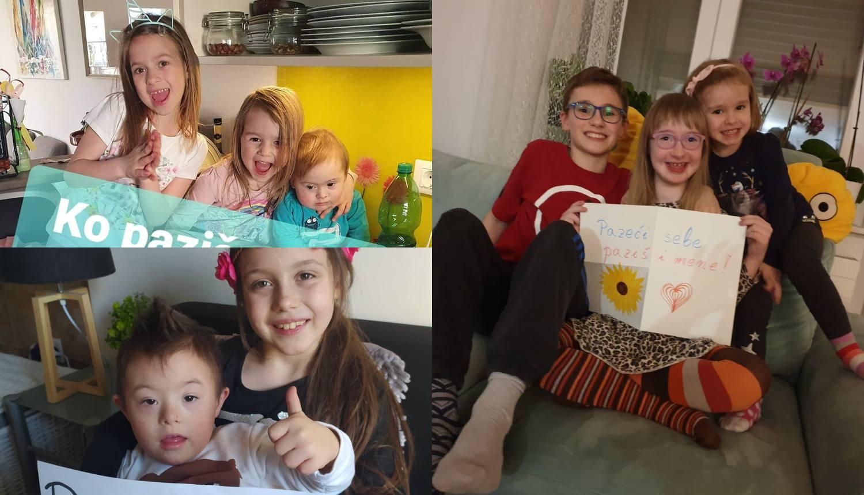 Djeca s Downovim sindromom: Pazeći na sebe, paziš i na mene