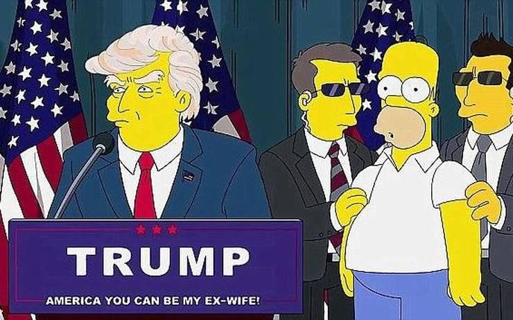 Autori Simpsona otkrili kako su predvidjeli Trumpa, 9/11...