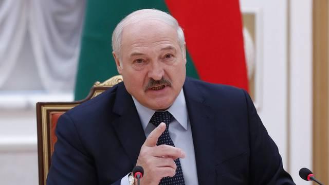 BelarusianPresidentAlexanderLukashenkospeaks at CIS Heads ofGovernmentCouncil inMinsk
