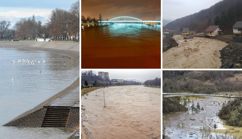 Odroni uz Rašu, Sava poplavila nasip: Poplave i u susjedstvu...