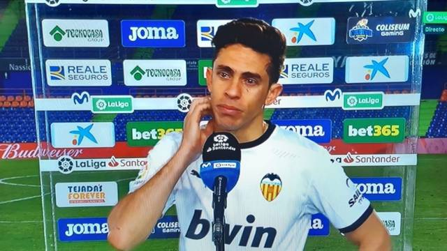 Kakva je Valencijina sezona? Igračeve suze dovoljno govore