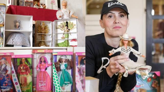 Hrvatska kolekcionarka: Moj život su Barbike, imam ih preko 300, neke su prava remek-djela
